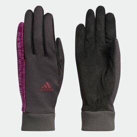 【公式】アディダス adidas ゴルフ ウィメンズ CPウォーム ペアグローブ19【ゴルフ】 / Warm Gloves レディース アクセサリー 手袋/グローブ グレー CL7663
