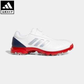 【公式】アディダス adidas 返品可 ゴルフ アルファフレックス ボア / Alphaflex BOA Shoes メンズ シューズ・靴 スポーツシューズ 白 ホワイト F35398 notp
