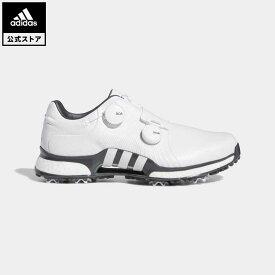 【公式】アディダス adidas 返品可 ゴルフ ツアー360 XT ツイン ボア / Tour360 XT Twin BOA Shoes メンズ シューズ・靴 スポーツシューズ 白 ホワイト F35401 notp