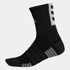 【公式】アディダス adidas Creator 365 クルーソックス [Creator 365 Crew Socks] レディース メンズ バスケットボール アクセサリー ソックス クルーソックス EJ8540