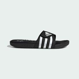 【公式】アディダス adidas 水泳 アディサージ サンダル / Adissage Slides レディース メンズ シューズ サンダル 黒 ブラック F35580