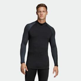 【公式】アディダス adidas ALPHASKIN ATHLETE CLIMAWARM ロングスリーブシャツ メンズ ジム・トレーニング ウェア トップス Tシャツ CW4040 winterfootball p0705
