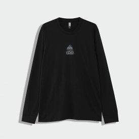 【公式】アディダス adidas STAR WARS LONG SLEEVE TEE メンズ バスケットボール ウェア トップス Tシャツ FN3241 p0810
