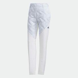【公式】アディダス adidas ゴルフ ヒートエフェクト ポイントキルト ウォームパンツ【ゴルフ】 / Performance Pants レディース ウェア ボトムス パンツ 白 ホワイト EJ7407