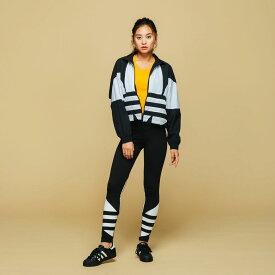全品送料無料! 11/12 11:00〜11/18 09:59 【公式】アディダス adidas ラージ ロゴ タイツ レディース オリジナルス ウェア ボトムス タイツ FQ6822 point_adidasday