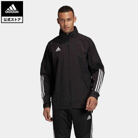 【公式】アディダス adidas サッカー Condivo 20 オールウェザー ジャケット / Condivo 20 Allweather Jacket メンズ ウェア アウター ジャケット 黒 ブラック EA2507 winterfootball p0409