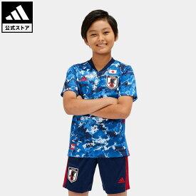 【公式】アディダス adidas 返品可 サッカー サッカー日本代表 2020 キッズ ホーム レプリカ ユニフォーム / Japan Home Kids Jersey キッズ ウェア・服 トップス ユニフォーム 青 ブルー ED7345 notp