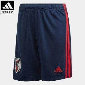 【公式】アディダス adidas 返品可 サッカー サッカー日本代表 2020 キッズ ホームレプリカ ショーツ / Japan Home Kids Shorts キッズ ウェア・服 ボトムス ショートパンツ・短パン 青 ブルー ED7372 notp