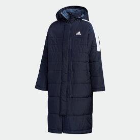 【公式】アディダス adidas マストハブ ボアコート / Must Haves Boa Coat キッズ ウェア アウター コート 青 ブルー EC9238
