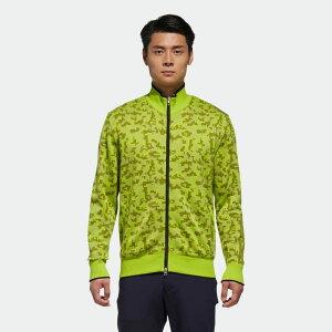 【公式】アディダス adidas ゴルフ CP 長袖フルジップセーター メンズ ウェア トップス 緑 グリーン U31082