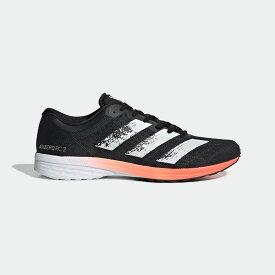 【公式】アディダス adidas ランニング アディゼロ RC 2.0 / Adizero RC 2.0 メンズ シューズ スポーツシューズ 黒 ブラック EE4337 スパイクレス ランニングシューズ