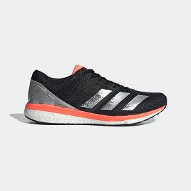 【公式】アディダス adidas ランニング アディゼロ ボストン 8 ワイド / Adizero Boston 8 Wide レディース メンズ シューズ スポーツシューズ 黒 ブラック EE4991 スパイクレス ランニングシューズ