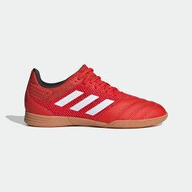 【公式】アディダス adidas サッカー コパ 20.3 サラ IN / フットサル用/インドア用 / Copa 20.3 Sala Indoor Boots キッズ シューズ スポーツシューズ 赤 レッド EF1915 スパイクレス p1030