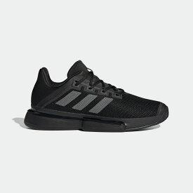 【公式】アディダス adidas ソールマッチ バウンス [SoleMatch Bounce Shoes] メンズ テニス シューズ スポーツシューズ EF2439 テニスシューズ