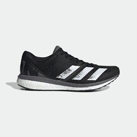 【公式】アディダス adidas ランニング アディゼロ ボストン 8 w / adizero Boston 8 w レディース シューズ スポーツシューズ 黒 ブラック EG1168 ランニングシューズ スパイクレス