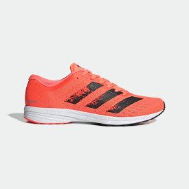 【公式】アディダス adidas ランニング アディゼロ RC 2.0 / Adizero RC 2.0 メンズ シューズ スポーツシューズ オレンジ EG1188 ランニングシューズ スパイクレス p1030