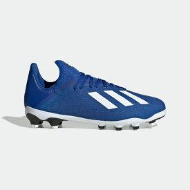 【公式】アディダス adidas サッカー X 19.3 HG/AG / 硬い土用 / 人工芝用 / X 19.3 Multi-Ground Boots キッズ シューズ スパイク 青 ブルー EG1495 サッカースパイク p1204