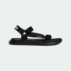 【公式】アディダス adidas 水泳 コンフォート サンダル / Comfort Sandals レディース メンズ シューズ サンダル 黒 ブラック EG6514
