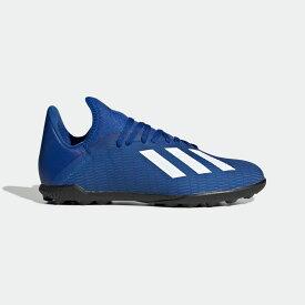 【公式】アディダス adidas サッカー エックス 19.3 TF / フットサル用 / X 19.3 Turf Boots キッズ シューズ スポーツシューズ 青 ブルー EG7172 スパイクレス
