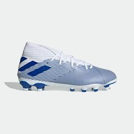 【公式】アディダス adidas サッカー ネメシス HG/AG / 硬い土用 / 人工芝用/ Nemeziz 19.3 Multi-Ground Boots メンズ シューズ スパイク 白 ホワイト EG7215 サッカースパイク