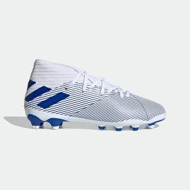 【公式】アディダス adidas サッカー ネメシス 19.3 HG/AG / 硬い土用 / 人工芝用 / Nemeziz 19.3 Mixed Ground Boots キッズ シューズ スパイク 白 ホワイト EG7217 サッカースパイク p1030