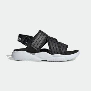 【公式】アディダス adidas 水泳 90s サンダル / 90s Sandals レディース シューズ サンダル 黒 ブラック EG7647 p1204
