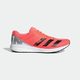 【公式】アディダス adidas ランニング アディゼロ ボストン8 / Adizero Boston 8 メンズ シューズ スポーツシューズ オレンジ EG7893 ランニングシューズ スパイクレス