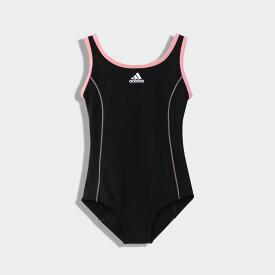 【公式】アディダス adidas 水泳 ブラ付きスイムスーツ / Swimsuit With Bra キッズ ウェア 水着 水着ワンピース 黒 ブラック FI8275
