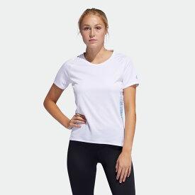 【公式】アディダス adidas ランニング Parley Tシャツ [25/7 Rise Up N Run Parley Tee] レディース ウェア トップス Tシャツ 白 ホワイト FL5973 半袖 ランニングウェア