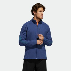 【公式】アディダス adidas ランニング ライズアップ N ラン ジャケット / Rise Up N Run Jacket メンズ ウェア アウター ジャケット 青 ブルー FL6829 ランニングウェア