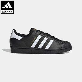 【公式】アディダス adidas 返品可 スーパースター / Superstar オリジナルス レディース メンズ シューズ・靴 スニーカー 黒 ブラック EG4959 ローカット