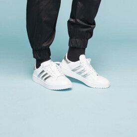 【公式】アディダス adidas チームコート / Team Court オリジナルス レディース シューズ スニーカー 白 ホワイト EG9824 ローカット p1030