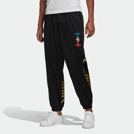 【公式】アディダス adidas メタリック トラック パンツ オリジナルス メンズ ウェア ボトムス ジャージ パンツ 黒 ブラック FS7325 valentine 下 p1030