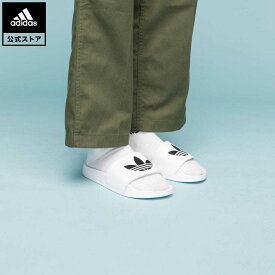 【公式】アディダス adidas 返品可 アディレッタ ライト サンダル / Adilette Lite Slides オリジナルス レディース メンズ シューズ・靴 サンダル 白 ホワイト FU8297 whitesneaker