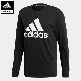 【公式】アディダス adidas 返品可 マストハブ バッジ オブ スポーツ スウェットシャツ / Must Haves Badge of Sport Sweatshirt アスレティクス メンズ ウェア トップス Tシャツ 黒 ブラック EB5266 ロンt