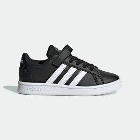 【公式】アディダス adidas 子供用 グランドコート [Grand Court Shoes] キッズ ボーイズ&ガールズ シューズ スニーカー EF0108