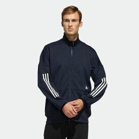 【公式】アディダス adidas Tech ニットジャケット / Tech Knit Jacket アスレティクス メンズ ウェア アウター ジャケット ジャージ 青 ブルー FM5328