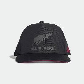 【公式】アディダス adidas オールブラックス フラット キャップ / All Blacks Flat Cap レディース メンズ ラグビー アクセサリー 帽子 キャップ FQ3673