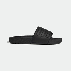 【公式】アディダス adidas 水泳 アディレッタ BOOST サンダル / Adilette Boost Slides レディース メンズ シューズ サンダル 黒 ブラック EH2256 valentine p1204