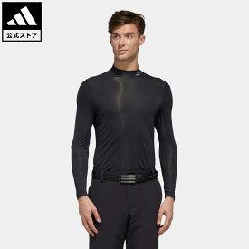 【公式】アディダス adidas 返品可 ゴルフ ソリッド インナーシャツ / Base Layer Top メンズ ウェア トップス 黒 ブラック FJ7526 eoss21ss notp