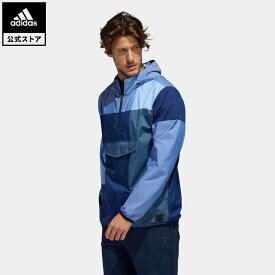 【公式】アディダス adidas 返品可 ゴルフ ADICROSS マルチパターン アノラックジャケット/ Adicross Anorak メンズ ウェア・服 アウター ジャケット 青 ブルー FK1098 notp