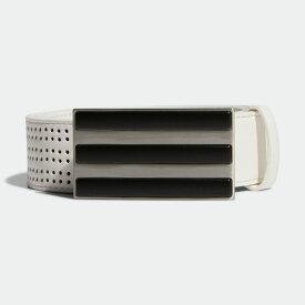 【公式】アディダス adidas フリーアジャスタブル パンチングベルト【ゴルフ】/ 3-Stripes Punch-Hole Belt メンズ ゴルフ アクセサリー ベルト FM3111 p0810