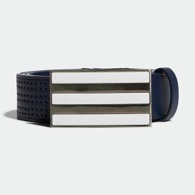 【公式】アディダス adidas フリーアジャスタブル パンチングベルト【ゴルフ】/ 3-Stripes Punch-Hole Belt メンズ ゴルフ アクセサリー ベルト FM3112