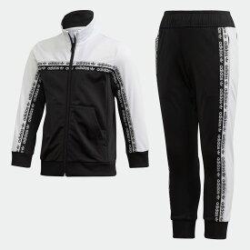 【公式】アディダス adidas トラックスーツ キッズ オリジナルス ボーイズ&ガールズ ウェア セットアップ ジャージ FN0938 ss2020_mss p0810