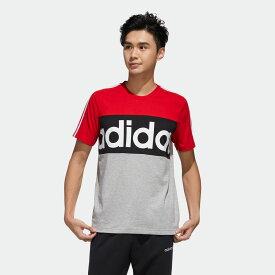 【公式】アディダス adidas エッセンシャルズ カラーブロック Tシャツ / Essentials Colorblock Tee メンズ ジム・トレーニング ウェア トップス Tシャツ FL0294 p0705