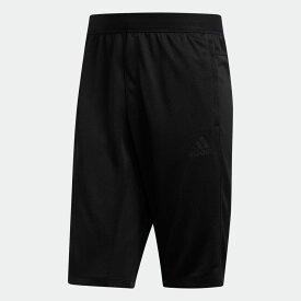 【公式】アディダス adidas ジム・トレーニング シティ ロング ショーツ / City Long Shorts メンズ ウェア ボトムス ハーフパンツ 黒 ブラック FL1501