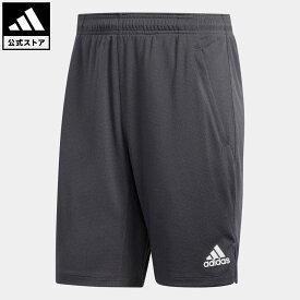 【公式】アディダス adidas ジム・トレーニング オールセット 9インチ ショーツ / All Set 9-Inch Shorts メンズ ウェア ボトムス ハーフパンツ グレー FL1540