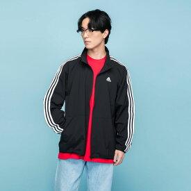 【公式】アディダス adidas マストハブ 3ストライプス ジャケット / Must Haves 3-Stripes Jacket アスレティクス メンズ ウェア アウター ジャケット ジャージ 黒 ブラック FM5337