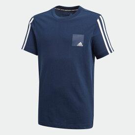 【公式】アディダス adidas DMH ロゴ 半袖Tシャツ / DMH Logo Tee キッズ ボーイズ ウェア トップス Tシャツ FM7594 p0802