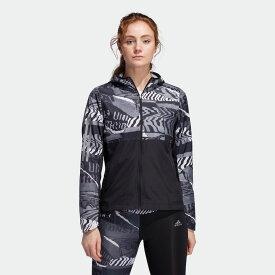 【公式】アディダス adidas ランニング オウン ザ ラン シティクラッシュ ウインドジャケット / Own The Run City Clash Wind Jacket レディース ウェア アウター ジャケット 黒 ブラック ED9312 ランニングウェア